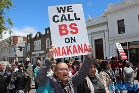 Image result for makana protests